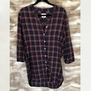 LOGG Oversized Flannel Shirt